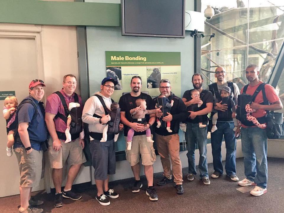 chicago dads babywearing 2015