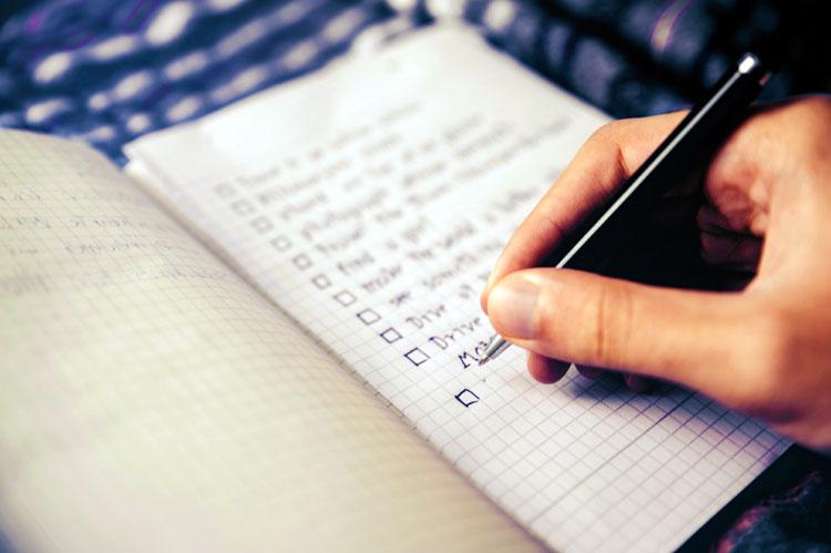 ultimate family checklist