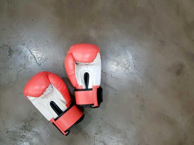 boxing gloves tough love